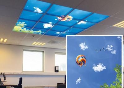 Scholengroep Holland wolkenplafond